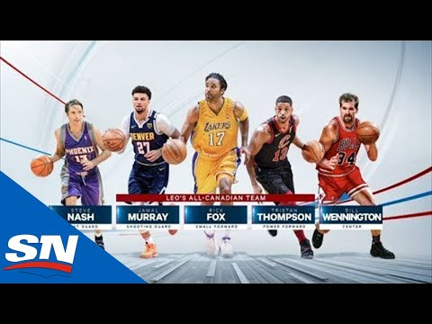 Revealing Our Best All-Canadian NBA Team | Basketball Central @ Home