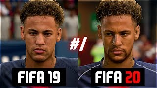 NEW FIFA 20 PLAYER FACES? NEYMAR, FIRMINO, ÖZIL