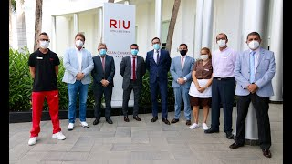 RIU Gran Canaria, recibe turistas holandeses