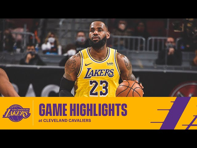 HIGHLIGHTS | LeBron James (46 pts, 8 reb, 6 ast) vs Cleveland Cavaliers