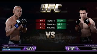 UFC EA Sports Boxing Donald Cerrone VS Chan Sung Jung Gameplay