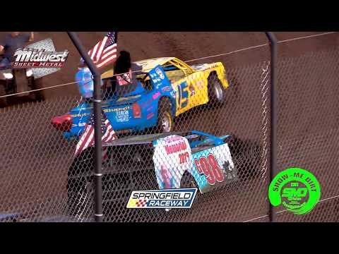 SO3-E386 Tribute to Granny Springfield Raceway 08-10-2019 #DirtTrackRacing