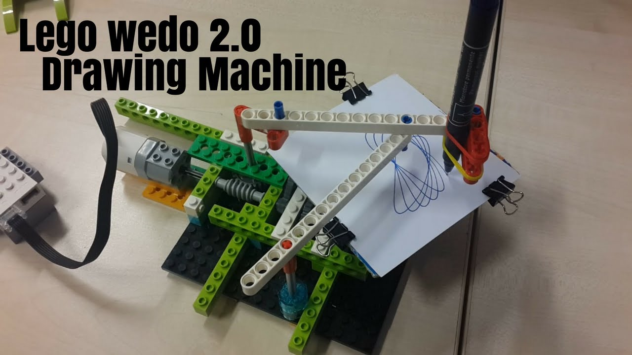 Drawing Machine with WeDo 2.0 Lego Education Project