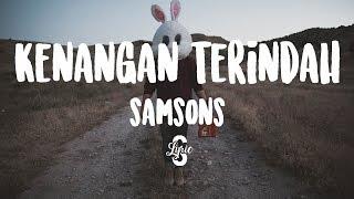 Lyric/lirik Kenangan Terindah - Samsons ( Cover by Safira Jihan )