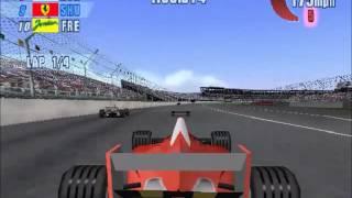 F1 Championship Season 2000 (2000) -  Gameplay clip