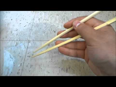 How To Hold Chopsticks-EASY Method