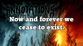 Annotations of an Autopsy - Emptiness (LYRICS)