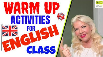 WARM UP ACTIVITIES FOR ENGLISH CLASS │TEACHING ENGLISH