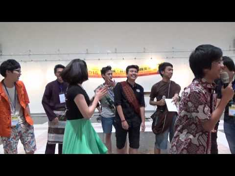 NCUT Summer Camp 2015 - farewell party Indonesian performance