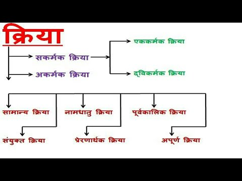 Kriya verb hindi grammar best vyakaran also rh youtube
