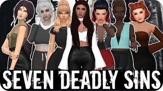 SEVEN DEADLY SINS 💀 | Sims 4 Create A Sim