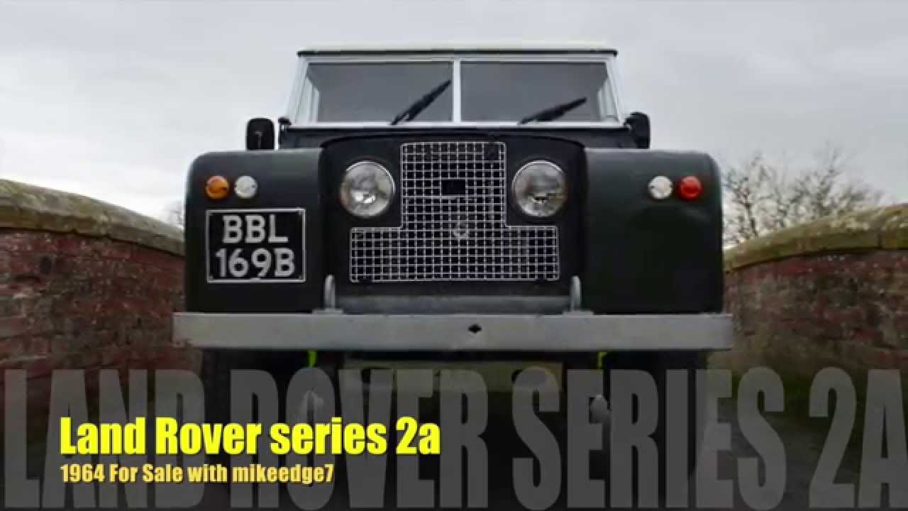 Land Rover Series 2a For Sale With Mikeedge7