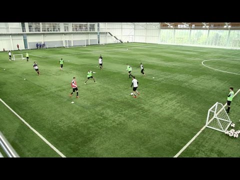 How to perfect the possession game | Soccer passing drill | Nike Academy