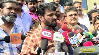 Producer Council fight - Why is Puratchi Thalapathy so Scared of Us? | Cheran Mocks Vishal