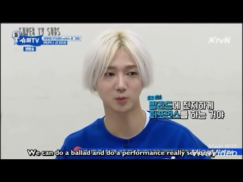 Super TV Yesung x Gugudan Performance  Super Junior Superman is on stage