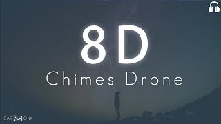 8D Meditation Music || Heavenly Chimes + Drone + Waves