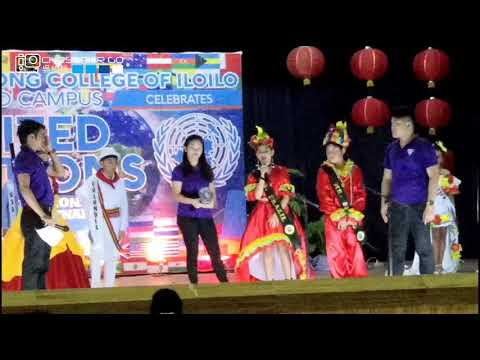 Hua siong college of iloilo united nation presenting mr. and ms. Brazil