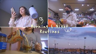 ゚my morning night routines ゚ on a good day