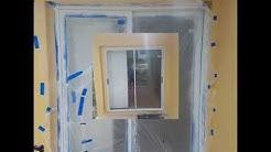 Sliding glass door repair and paint by PLSLocksmith.com (888) 888-6009