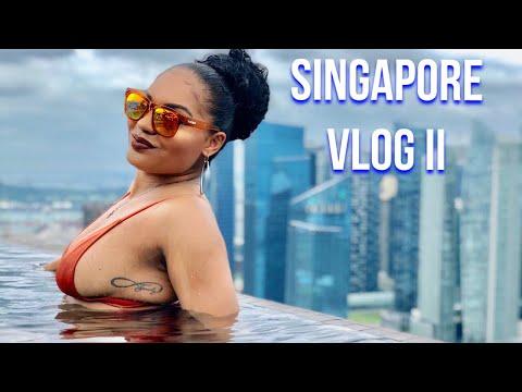Singapore Travel Vlog II
