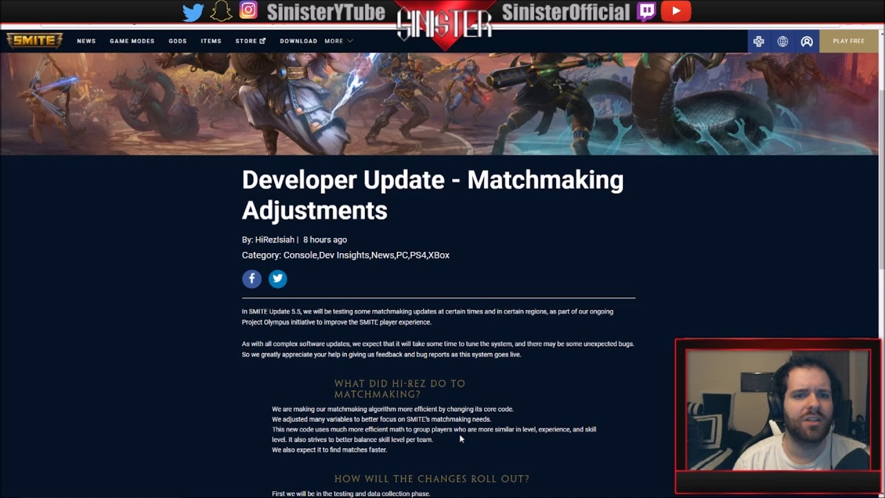 smite matchmaking patch For smite on the pc, a gamefaqs message board topic titled how is the matchmaking in this game.