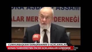 erdoğanın baş danışmanı ve sadat başkanı, Türkiye eyaletlere bölünmelidir