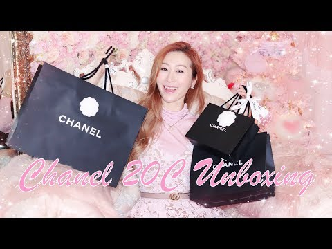 chanel-20c-unboxings-🤩-cruise-2020-💖-what-i-got-for-christmas-❤️-sweet-chit-chat-unboxing-💖-lindiess