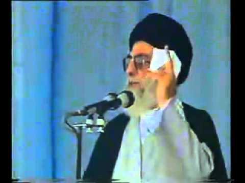 Ayatullah Khamenei azeri dilinde chixishi