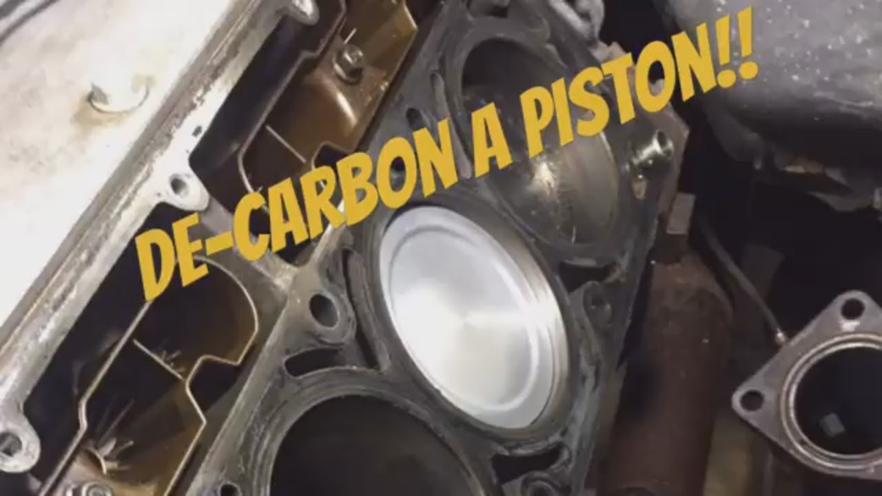 Cleaning Carbon Deposits off of Piston Tops / Easy ...