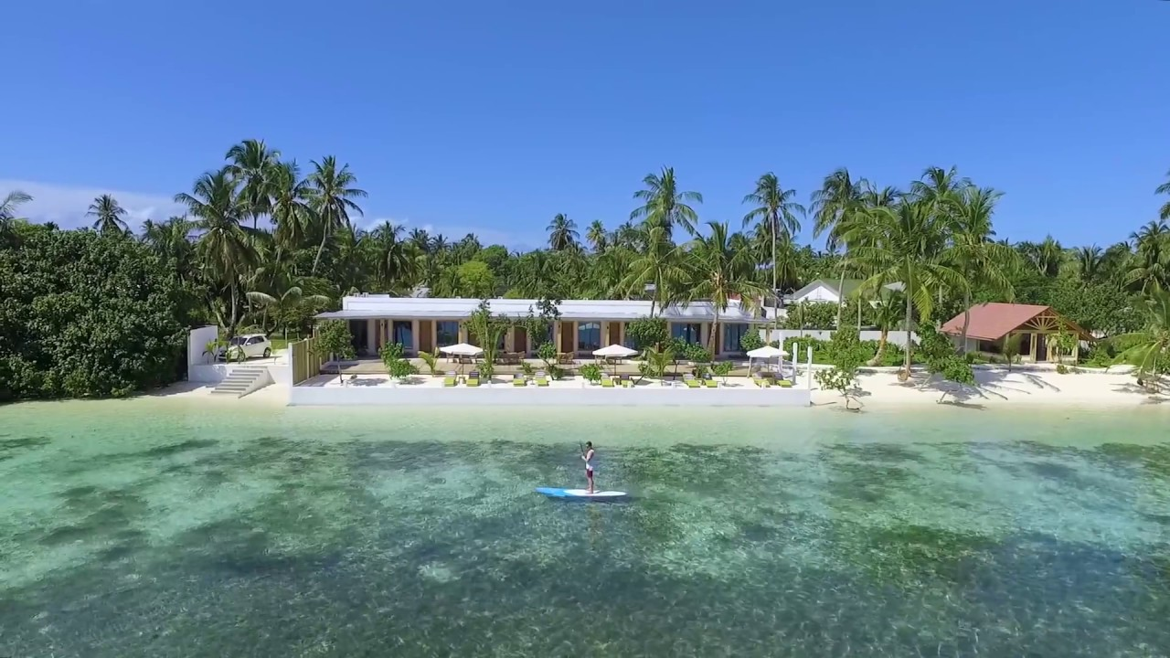 Paddling On Crystal Clear Waters At Wave Sound By 3s Maldives Youtube