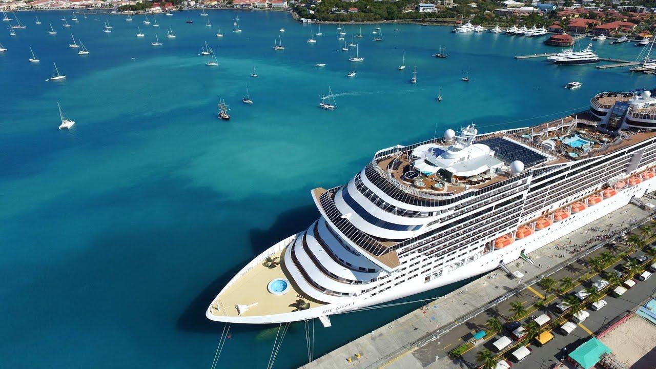 Msc Divina Cruise Dji Phantom Footage Youtube