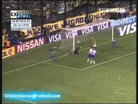 Boca  2 Universidad Catolica 2 Copa Sudamericana 2005 (resumen Completo)