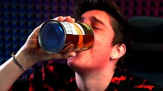 i chugged a can of beans on my birthday