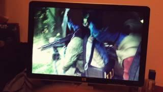 My Hewlett-Packard HD 1080I high definition monitor