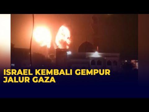 Israel Kembali Luncurkan Serangan Udara ke Jalur Gaza Palestina