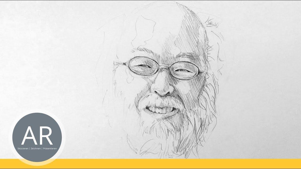gesichter schnell skizzieren lernen portraits zeichnen