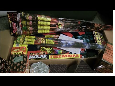 My 2013 Fireworks Display Stash/Unboxing | TNT, Bright Star, Weco & Royal Party | In 1080p HD