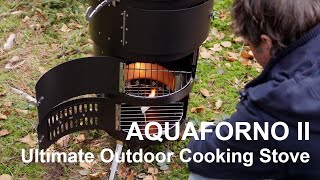 Aquaforno II - The Ultimate Outdoor Cooking Stove