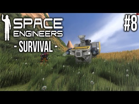Space Engineers - SURVIVAL Ep 8 - Demoted?