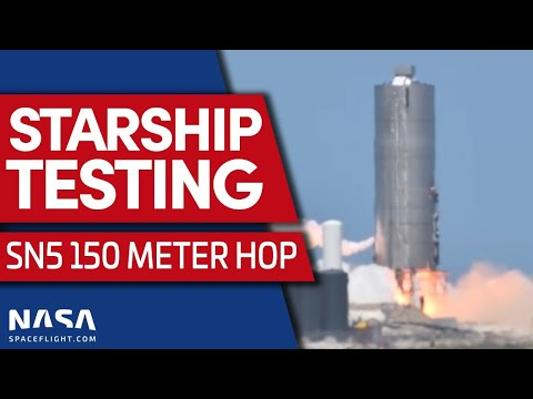 ABORT: Starship SN5 150Meter Hop Aborted in Boca Chica, Texas