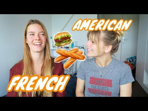 Discussing American & French Food with Aurelia