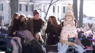 Elvis Presley s 80th Birthday: Lisa Marie Presley and her children celebrate at Graceland