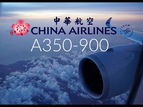 Excellent China Airlines A350 Business Class | SYD To TPE