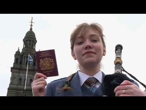 'Voices of Brexit' - the Scottish bagpiper