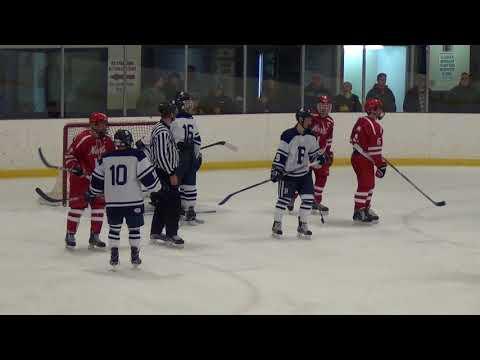 NAHS Varsity Hockey vs Burrillville 12 30 17