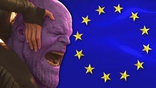 Thanos Mourns the EU Meme Ban