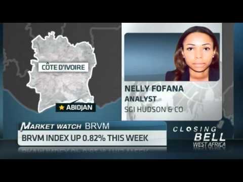 Cote d'Ivoire BRVM Index up 0.82% this week