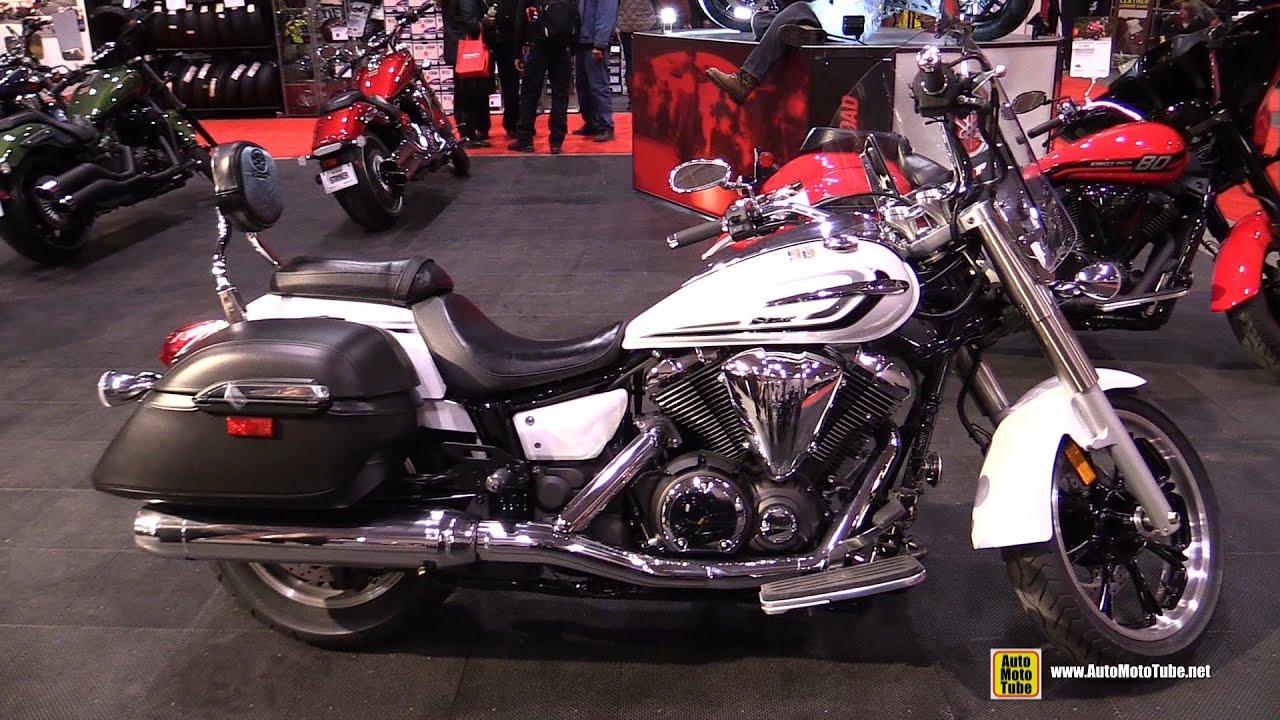 2015 yamaha v star 950 tourer walkaround 2015 toronto motorcycle show youtube. Black Bedroom Furniture Sets. Home Design Ideas