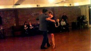 Holly Dayton-Kirby and Kausiik Kenzo Argentine Tango performance 02/04/2012