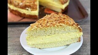 """Торт Укус Пчелы 🍰 Немецкий торт """"Bienenstich"""""""